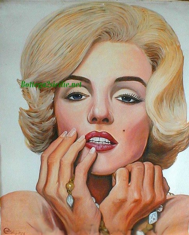Marilyn Monroe - Stampa - Attrice cantante statunitense Star 19